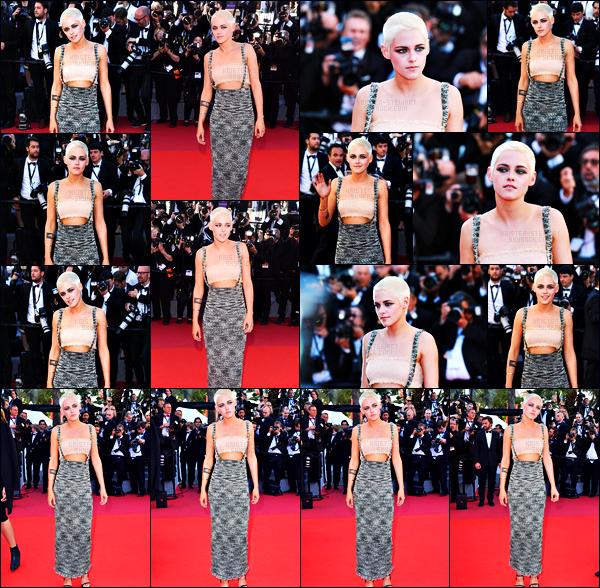 . 20.05.17 - Kristen Stewartétait présente à l'avant première de son film «Come Swim»'▬' lors du festival deCannes La belle actrice s'est rendue comme il se doit à l'avant première de son premier court métrage, elle était très jolie dans sa tenue, un top ! .