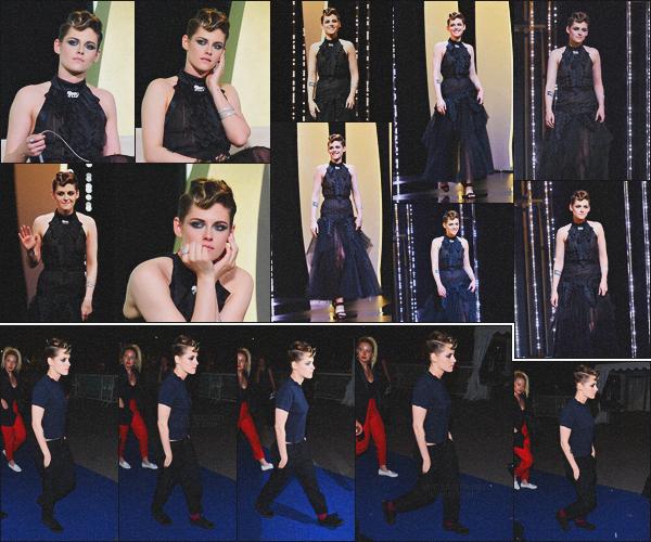 . 08.05.18 - Kristen Stewarts'est rendue à la cérémonie d'ouverture du « Festival de Cannes »''sur la''▬'' Côte d'Azur. Toujours en compagnie des membres du Jury Kristen s'est rendue à la cérémonie d'ouverture, puis elle a ensuite été vue quittant celle-ci !  .