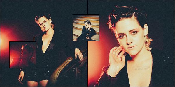 . Kristen Stewart photographiée pendant le Festival de Cannes for « Grazia » .