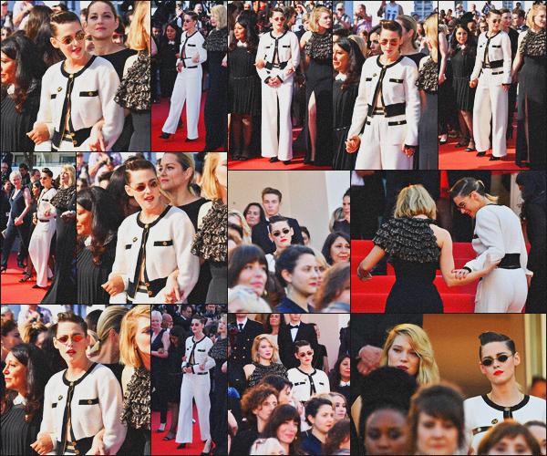 . 12.05.18 - Kristen Stewarta été aperçue à l'Avant Première de « Girls Of The Sun »''lors du 71e Festival de Cannes ! Pour ce cinquième jour de Festival, Kristen est de nouveau sur le red carpet lors de l'Avant Première du film Girls Of The Sun. un petit top .