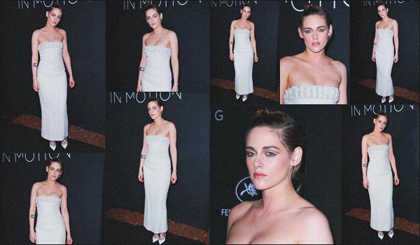 . 13.05.18 - Kristen Stewarts'est rendue au dîner « Women in Motion »''toujours lors du Festival de Cannes''▬'' FR ! Pour ce sixième jour de Festival, Kristen s'est rendue au dîner organisé chaque année par la marque de luxe Kering, à Cannes ! Gros top. .