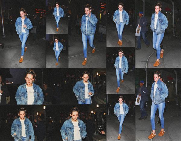 . 23.05.18 - Kristen Stewarta été vue avec son amie Lily'se rendant au « Arclight Theater »''▬'' dans Hollywood, CA ! Les deux amies se sont rendues Arclight Theater afin d'y voir un film.. J'aime bien l'ensemble en jean, mais non merci les chaussons Kris' ! .