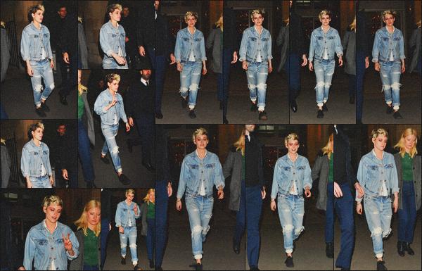 . 05.03.19 - Kristen Stewart a été vue quittant l'after party se déroulant après le défilé « Louis Vuitton » à'' ▬ ''Paris ! Après s'est rendue au défilé Chanel plus tôt dans l'après-midi, nous retrouvons Kristen le soir même quittant l'after party de Louis Vuitton. .