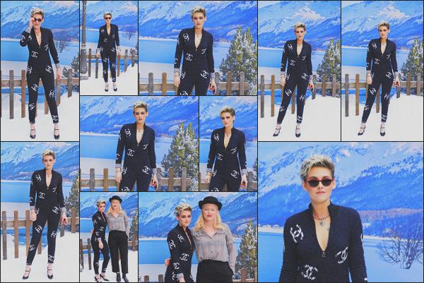 . 05.03.19 - Kristen Stewart s'est rendue au défilé « Chanel » ayant lieu durant la Fashion Week de'' ▬ ''Paris, France ! C'est sans surprise que notre égérie Chanel a été vue durant la Fashion Week pour le défilé de la célèbre marque. Je suis pas très fan, bof .