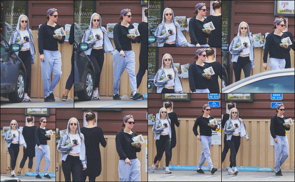 . 04.05.19 - Kristen Stewart a été aperçue avec Sara Dinkin, en quittant une épicerie dans'' ▬ ''Los Angeles, en Calif ! Le petit couple a été vu en tenue de sport, quittant une épicerie dans Los Angeles. C'est un gros flop pour ma part, je n'aime pas du tout. .