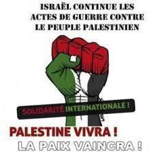 ISRAEL ASSASSINE LA PALESTINE.