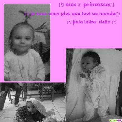 ♥  mes 3 amour  ♥ je vous aime  plus que  tout au monde  mes amour ♥ ma niece && petite  soeur&& ma niece ♥