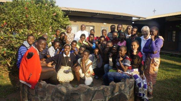 Camp avec les jeunes missionnaires à KASENGA à environ 219 km de La ville de Lubumbashi