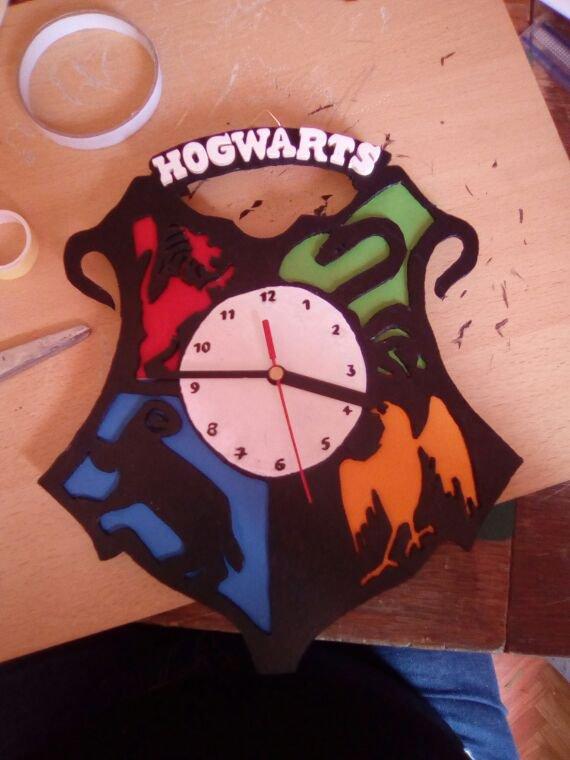 Horloge Harry Potter