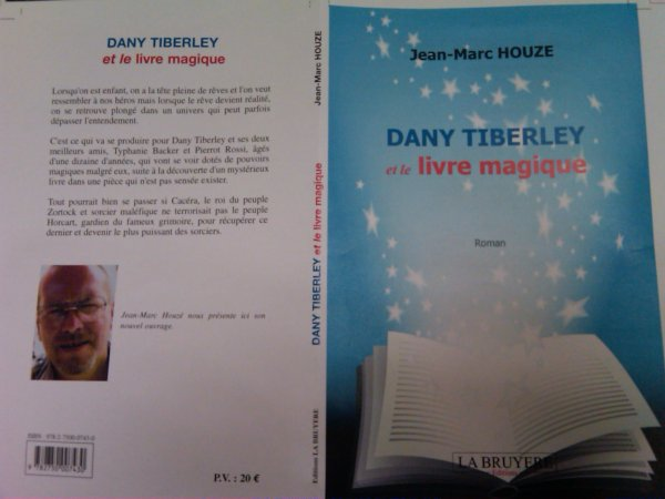 DANY TIBERLEY ET LE LIVRE MAGIQUE