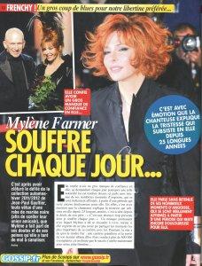 """Deux pages sur Mylène dans """"Frenchy People"""""""