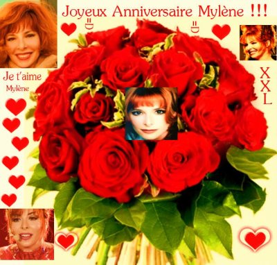 Joyeux Anniversaire Mylène !!!