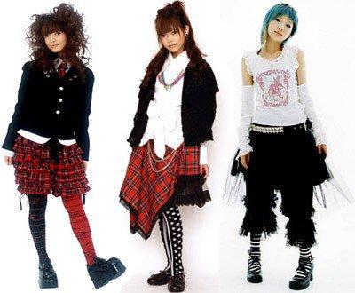 Les différents styles au Japon : Les Industrial Lolitas