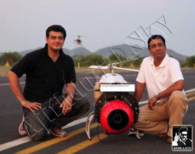 Thala Ajith Flying Boomerang Sprint JETCAT P70 Turbine
