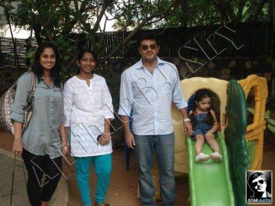 Exclusive Image : Thala Ajith & Family & Sun Tv Video Promo : Mankatha Diwali 2011