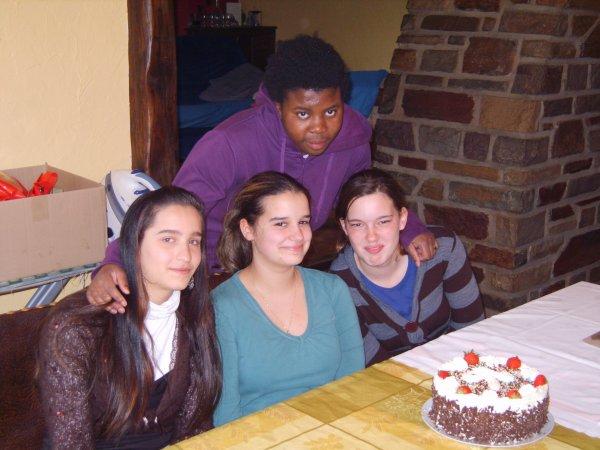 Djelana,Clara,Marie et moi
