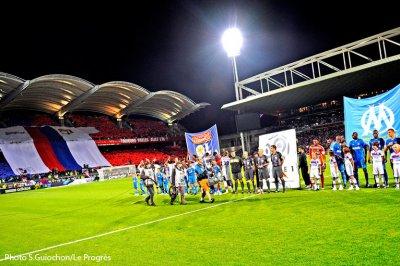 Olympique Lyonnais  -  Olympique de Marseille à 21h00.