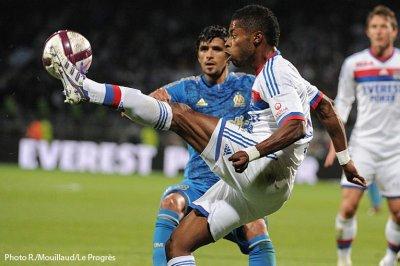 Olympique Lyonnais  2 - 0  Olympique de Marseille