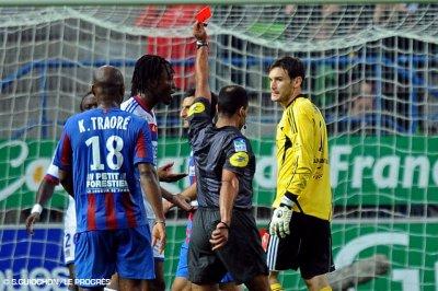 SM Caen 1 - 0 Olympique Lyonnais