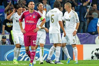 Real Madrid  4 - 0  Olympique Lyonnais