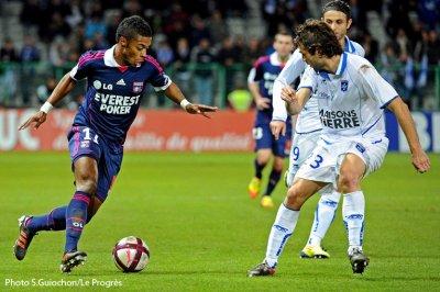AJ Auxerre  0 - 3  Olympique Lyonnais