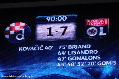 Dinamo Zagreb  -  Olympique Lyonnais