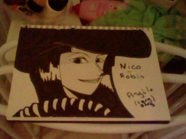 Nico Robine De One Piece