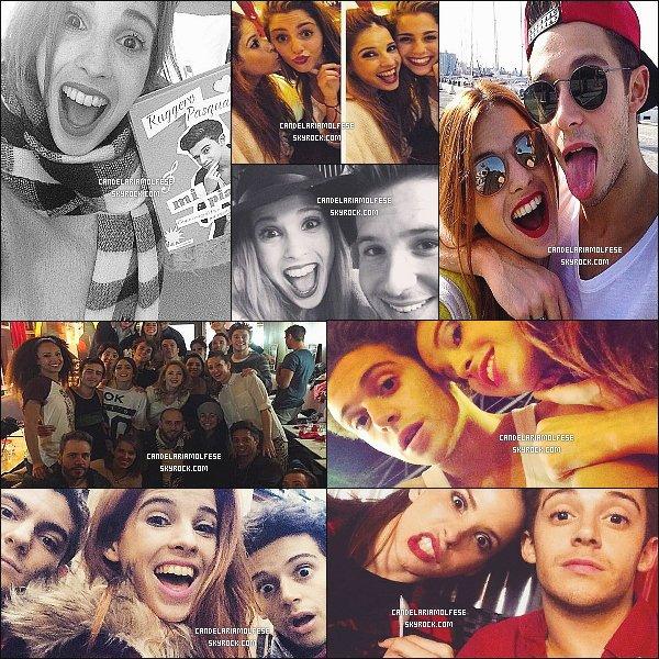 ' • •Découvrez les photos personnelles de Candelaria postées sur les réseaux sociaux.   '