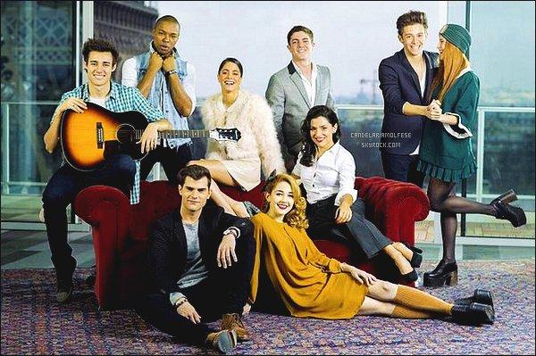 ' Découvrez l'interview du cast de -Violetta lors de leur séjour dans la capitale.  '