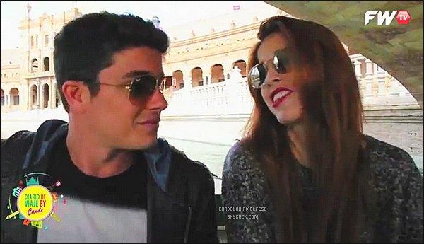 ' •Découvrez la nouvelle vidéo FWTV de Cande : « Remando Sevilla con Facu ».  '