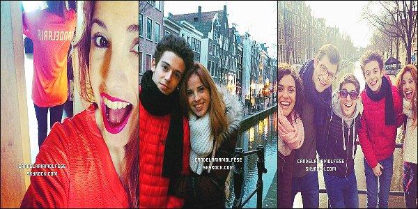 ' ••Nouvelles photos personnelles de Cande Molfese à Amsterdam, -Pays-Bas.  '