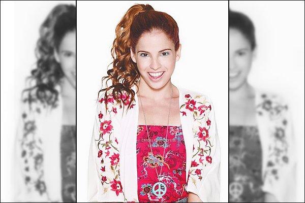 ' •Découvrez un nouvelle photo promotionnelle de Candelaria M. pour Violetta 3.  '