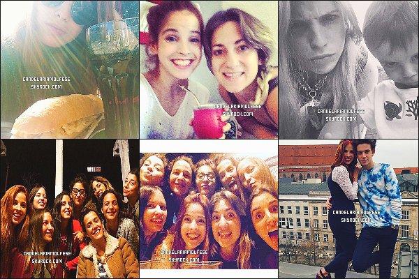 ' • Découvrez les nouvelles photos postées par Candelaria sur les réseaux sociaux. Le cast est désormais rentré à Buenos Aires. La tournée VLive reprend le 17/04 en Amérique Latine, Cande rejoint dès jeudi Rugg, à New-York.  '