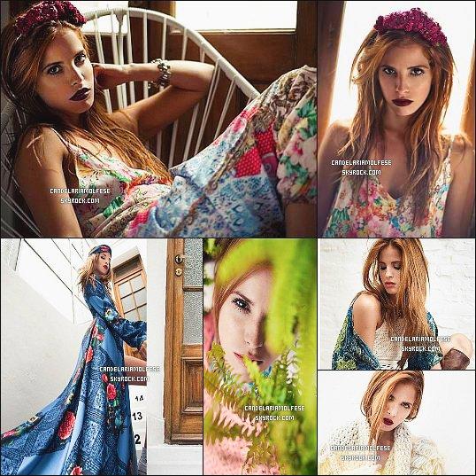 ' ●●'Quelques photos du nouveau shoot de Candelaria pour Guillermina Regalado. '