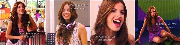 ' ●●'La présentation du personnage Camila Torres durant les trois saisons de Violetta. '