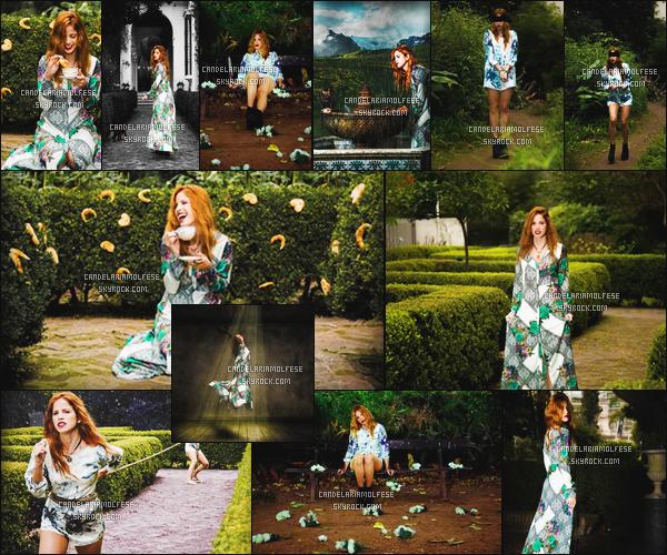 ' Notre magnifique Candelaria Molfese a posé pour le photographeLuciano Zurlo. Les robes que Miss Molfese portait durant ce shoot ont été faites par Guillermina Regalado. J'aime beaucoup ce shoot, il est pas mal! '