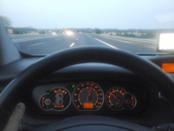 Sur l'autoroute du soleil!
