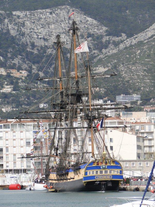 Frégate L'Hermione à Toulon