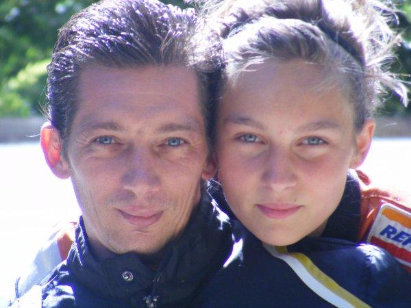 ma fille julia et moi