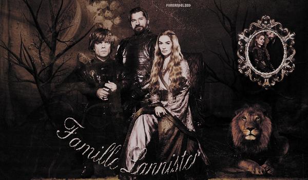 ► Famille Lannister ᘚ sur FiireAndBlood.skyrock.com>> Clique ici pour voir la déco non décalée <<