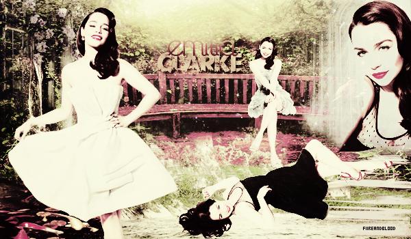 ► Emilia Clarke ᘚ sur FiireAndBlood.skyrock.com>> Clique ici pour voir la déco non décalée <<