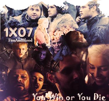 ► Game Of Thrones 1x07 ᘚ sur FiireAndBlood.skyrock.com>> Clique ici pour voir la déco non décalée <<