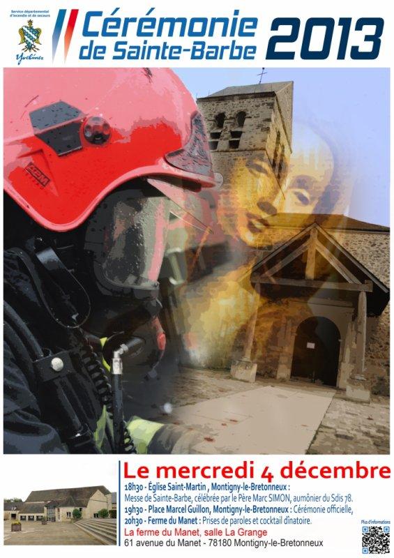 bonne fetes a tous les patrons des pompiers