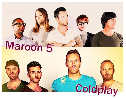 Maroon 5 VS Coldplay