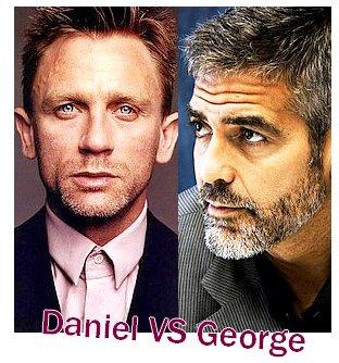 Daniel Craig VS George Clooney