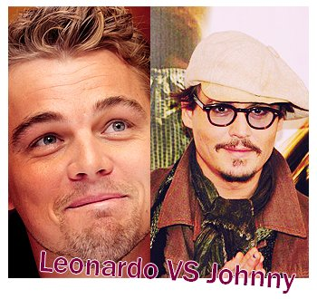 Leonardo Dicaprio VS Johnny Depp