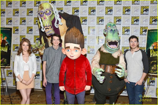 Kodi smit-mcphee - 'Paranorman' Panel au Comic con 2012