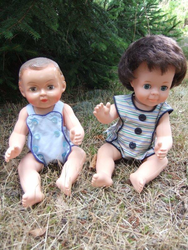 Photo de famille Petit-Collin: les bébés ... et les barboteuses M&T.