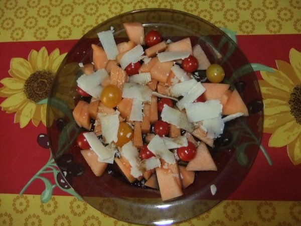 Il fait chaud encore: vite une salade de mon amie Jocelyne!