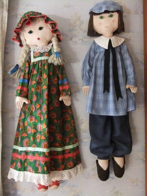 Pour Cypage-46 mais pas que: poupées chiffon M&T
